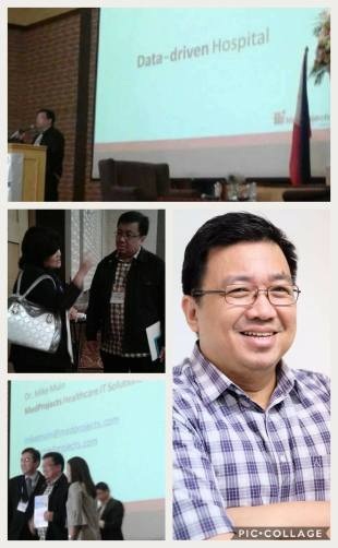 Dr Mike Muin, CEO of MedProjects at Healthcare Executives Society of the Philippines